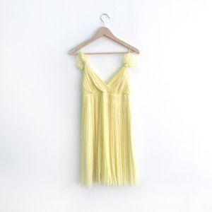 Club Monaco Sidney Pleated Dress - size 0